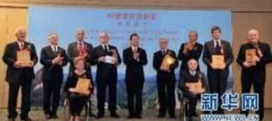 """Preside della Facolta' di Studi Orientali, ha ricevuto il """"Premio dell'Amicizia"""" dal Premier Wen Jiabao"""