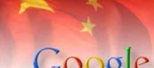 "PECHINO: ""ACCUSE  GOOGLE INACCETTABILI"""