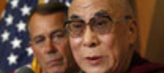 """CINAAGLI USA: """"NON  INCONTRATE IL DALAI LAMA"""""""