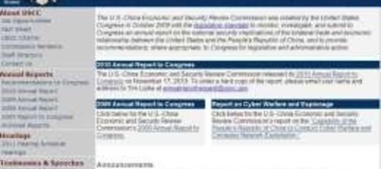 CINA RESPINGE ACCUSE USA CYBERSPIONAGGIO