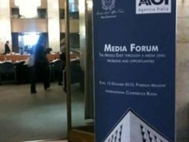 M.O.: FRATTINI E LA PACE POSSIBILE, RUOLO DEI MEDIA