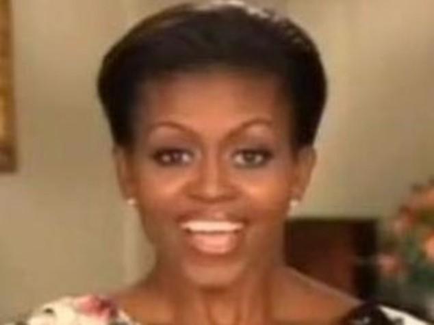 USA: MICHELLE OBAMA,  I DIFETTI DI BARACK?  E'TROPPO BRAVO A TENNIS