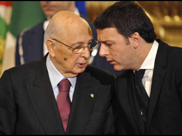 Napolitano blinda il governo Da Renzi sprint sull' Italicum