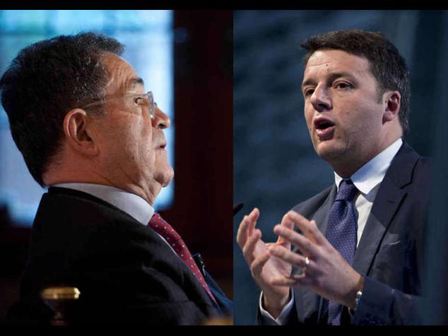 Governo: colloquio di 2 ore Renzi-Prodi; Berlusconi 'tranquillo'