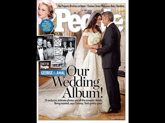 Le nozze di George e Amal - Video e Foto