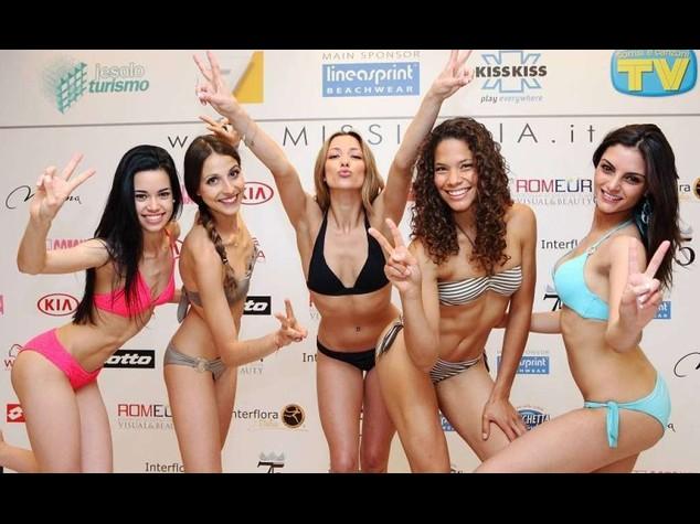 Ecco le prime 5 prefinaliste di Miss Italia. Tre nate all'estero