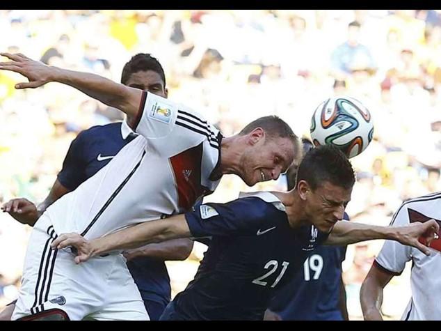 La Germania e' in semifinale  Francia ko, stasera il Brasile