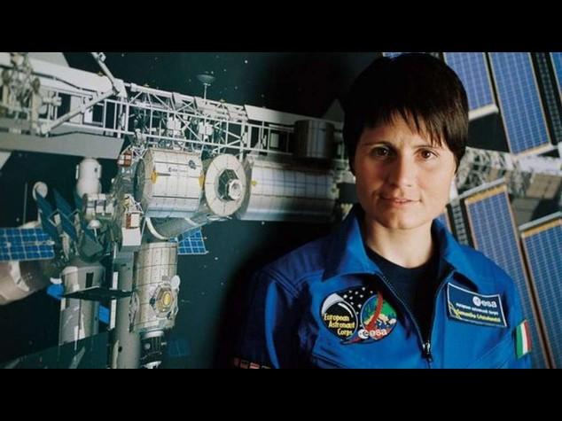Pronto razzo che portera' l'astronauta Cristoforetti nello spazio