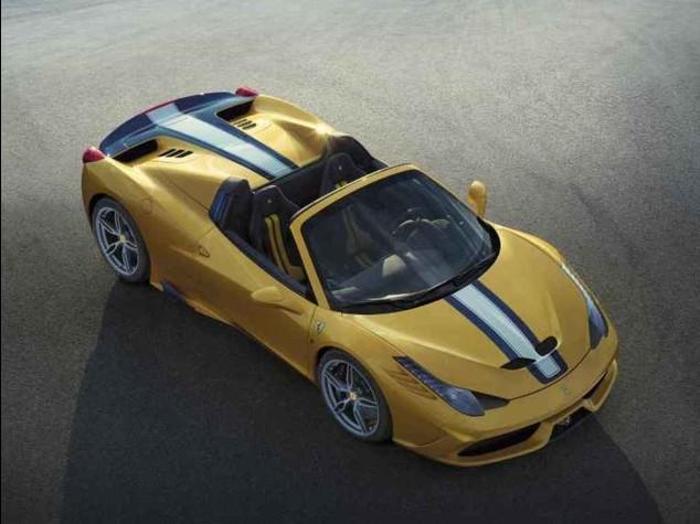 Ferrari, al Salone di Parigi 'sfila' la 458 Speciale 'A'  - Foto -
