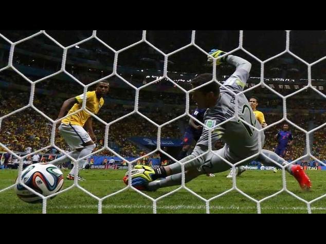 Brasile, e' naufragio totale. 0-3 con l'Olanda