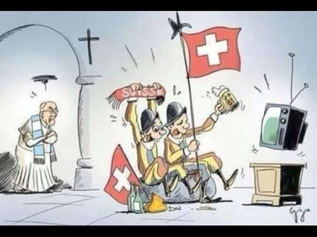 """Papa: scherza con guardie svizzere """"sara' la guerra"""" su Mondiali"""