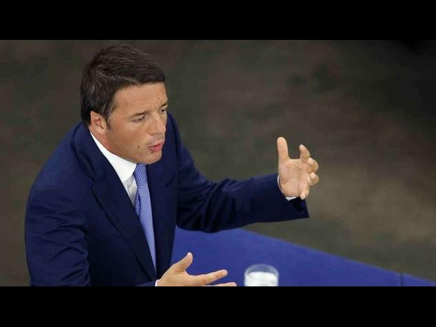 """Renzi, """"difendiamo l'Europa dall'assalto della tecnocrazia"""""""