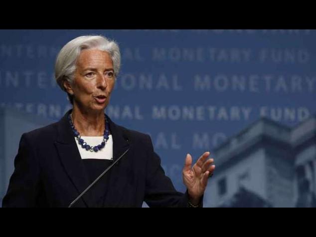 """Fmi: Lagarde, """"la ripresa accelera; e la Cina non frena"""""""