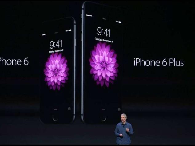 Apple: ecco iPhone 6, 'gioiello' oro, argento e grigio spaziale da 199 dollari