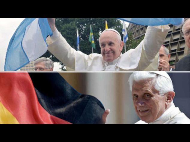 Germania-Argentina, 'derby' dei Papi in Vaticano