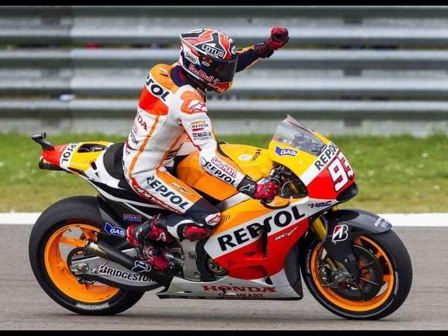 MotoGp: Marquez vince il Gp di Germania