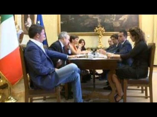 Riforme: Renzi, Pd e M5S divisi da ruscello non da Rio Amazzoni