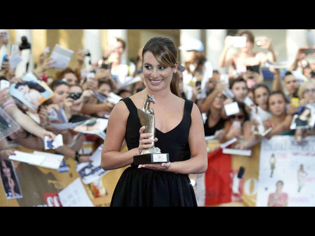 """Lea Michele a Giffoni, """"Glee mi ha cambiato la vita"""""""