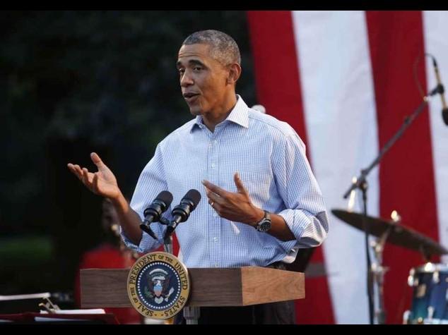 """Usa e alleati attaccano Isis Obama """"Piu' forti se uniti"""""""