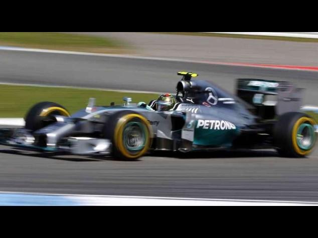 F. 1: Nico Rosberg on pole for German Grand Prix 2014