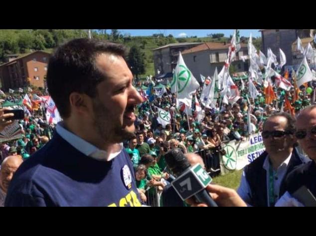 Lega: Salvini segretario fino a dicembre 2016