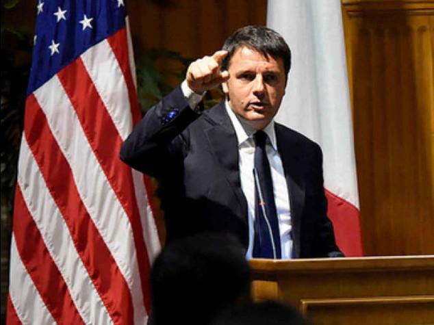 """Renzi: non e' l'ora delle elezioni """"Se non cambio l'Italia, lascio"""""""