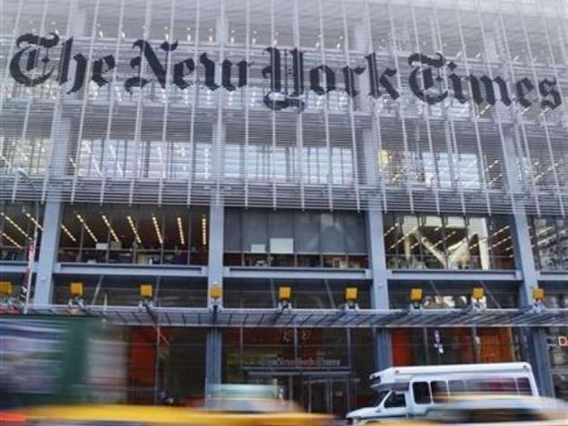 """Il New York Times taglia posti """"per investire nel digitale"""""""