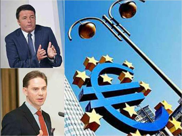 """L'Ue incalza l'Italia: """"Subito misure per aggiustare i conti"""""""