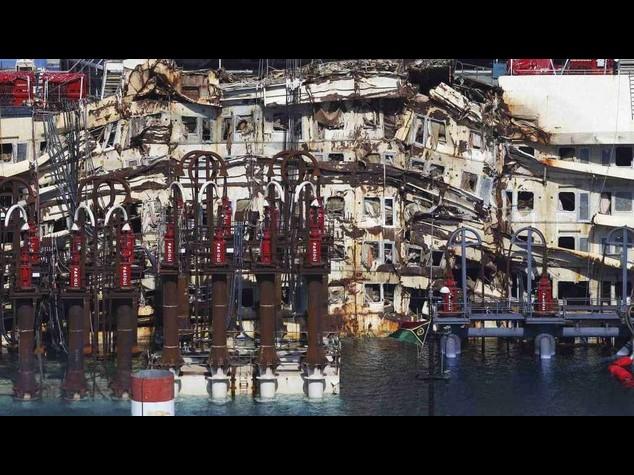 Concordia: software controllera' fase galleggiamento