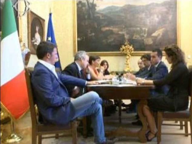 """Riforme, nuovo incontro Pd-M5S Renzi, """"possibile accordo tra noi"""""""