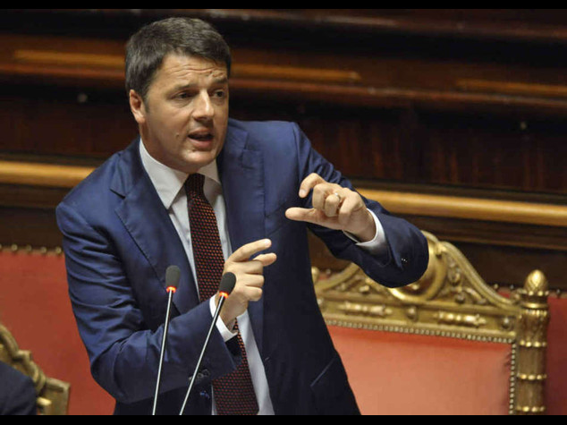 """Lavoro: Renzi tira dritto """"Non e' tempo di compromessi"""""""