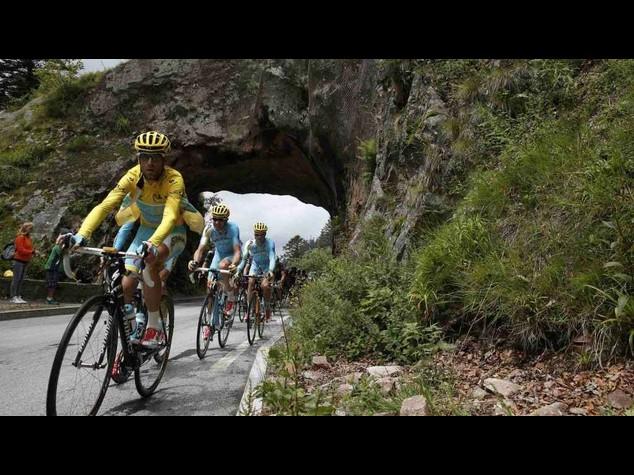 Tour2014: Nibali, maglia gialla persa ma resto sereno