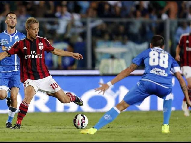 Calcio: Empoli-Milan 2-2, notte di sofferenza per il Diavolo