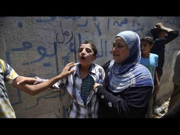 La tregua dura poche ore, Gaza sotto le bombe