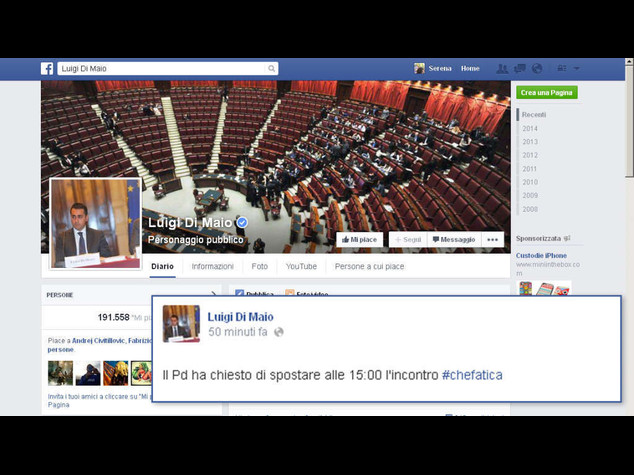 Riforme: alle 15 incontro in streaming Pd-M5S