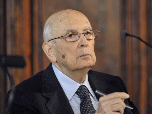 """Napolitano annuncia l'addio """"Imminente fine mio mandato"""""""