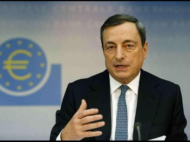 """Draghi, """"senza investimenti nessuna ripresa sostenibile"""""""