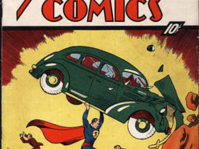 FUMETTI: VENDUTO  A 1 MILIONE DI DOLLARI  IL SUPERMAN N. 1