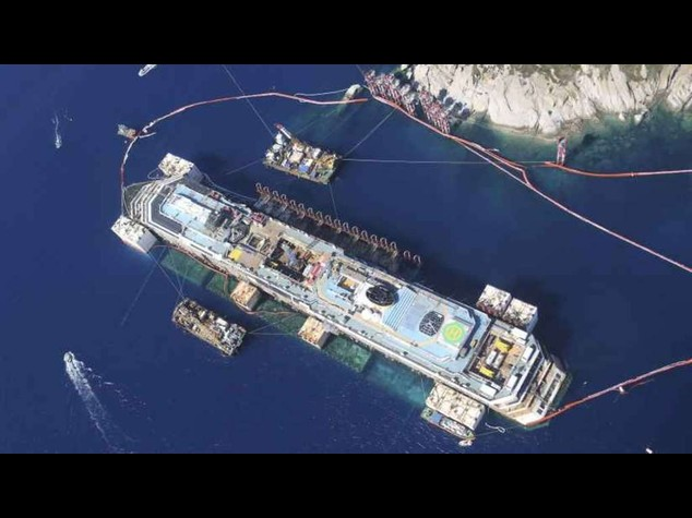 Costa Concordia to leave Giglio on Wednesday
