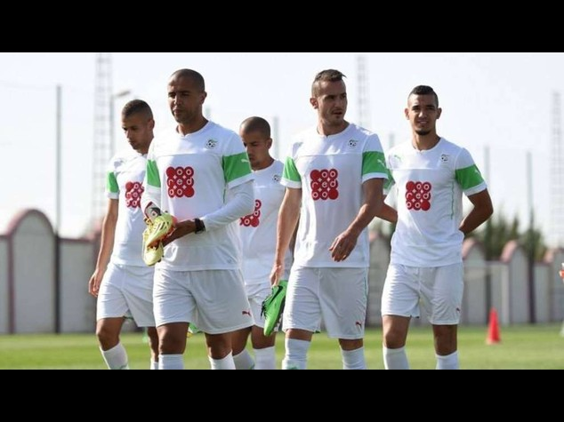 Algerian team gives World Cup bonuses to Gaza children
