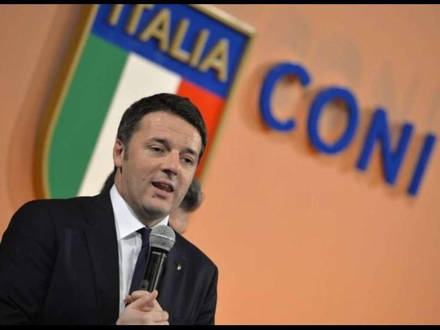 """Renzi, Italia si candidera': """"A Roma Giochi Olimpici 2024"""""""