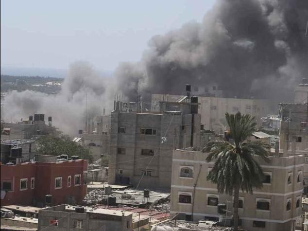 "Gaza: raid di Israele a Shebaya, 60 morti. Hamas accusa,""una nuova Sabra e Shatila"""