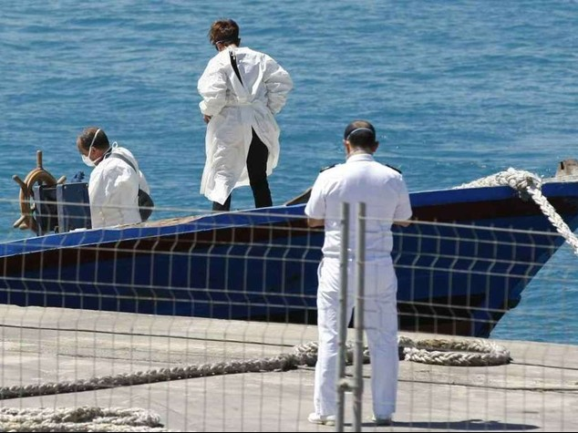 Migrant rescued by Italian vessel out of quarantine