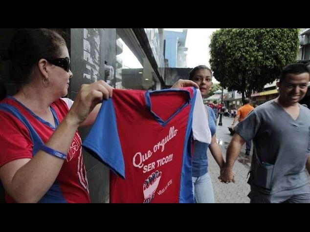 Oggi la Costa Rica tenta l'impresa con l'Olanda