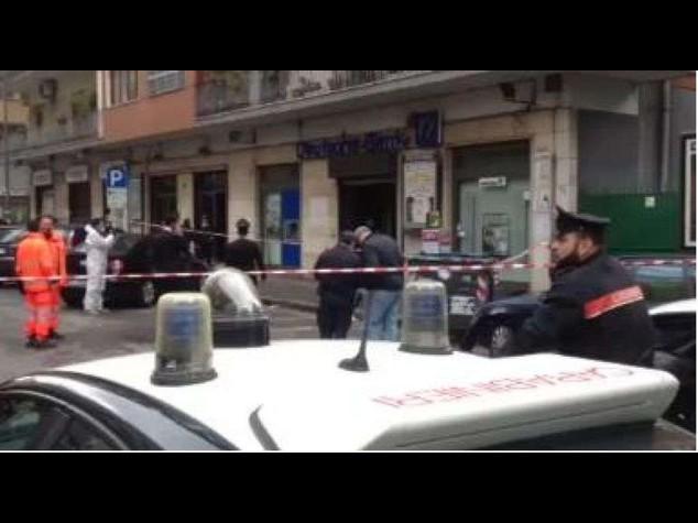 Trovato ordigno rudimentale vicino agenzia Deutsche Bank a Napoli