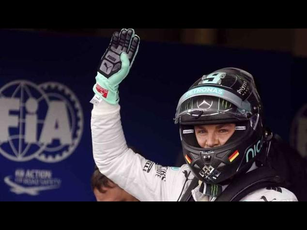 F. 1: Gp Germania, Rosberg 'pole', Alonso settimo