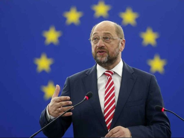Schulz re-elected president of European Parliament