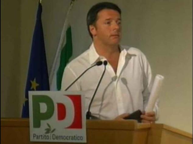 """Renzi """"Alle Camere si vota uniti"""" Direzione Pd verso rottura"""