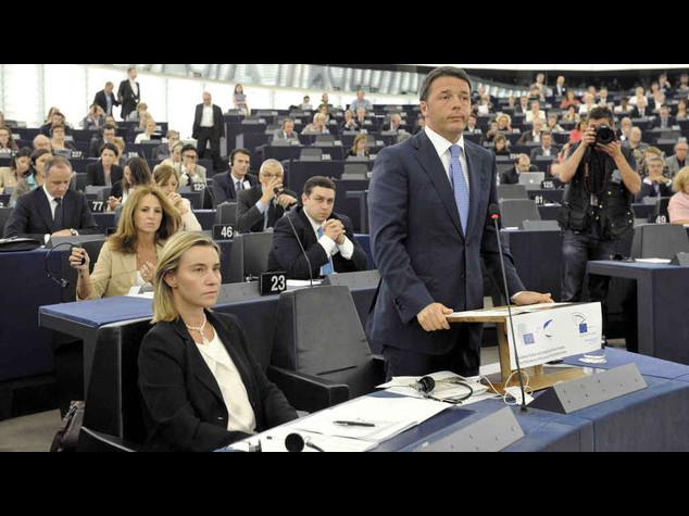 """Ue: Renzi, nodo nomine """"bloccato""""; """"Mogherini? Sarebbe in grado"""""""