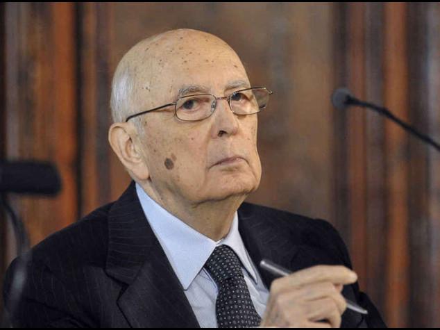 Napolitano: basta corruzione Antipolitica e' patologia eversiva